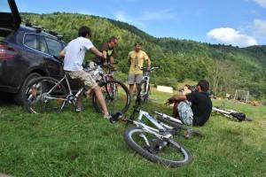 iniţiere în mountainbike